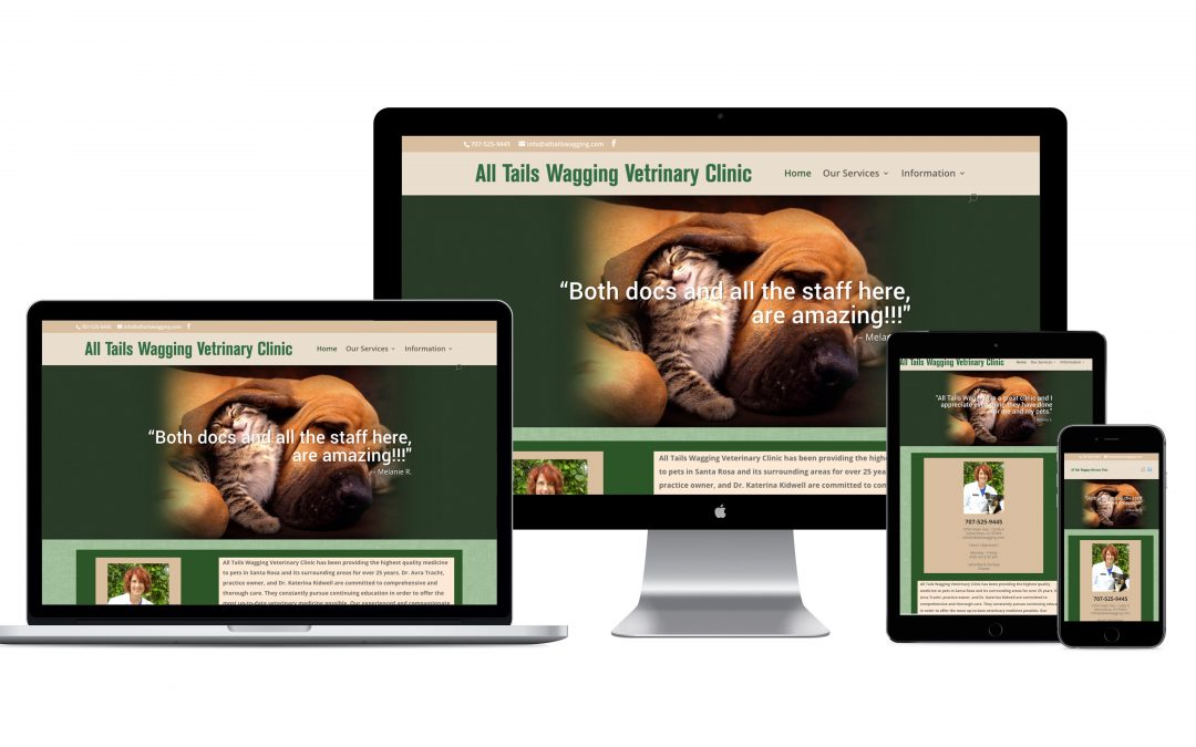 All Tails Wagging Website Development