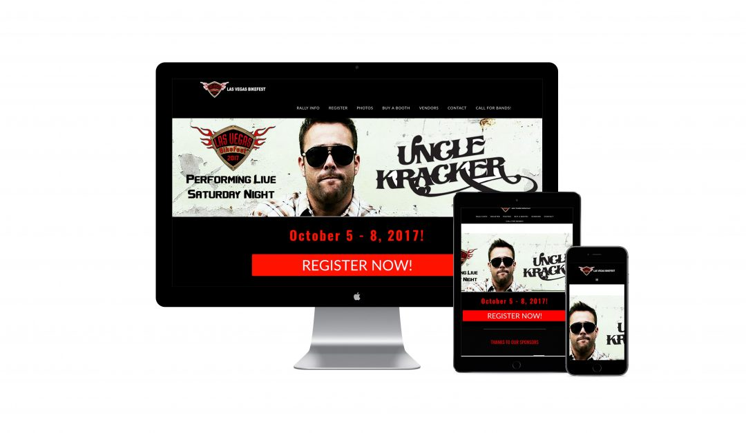 Bikefest Las Vegas Website Development