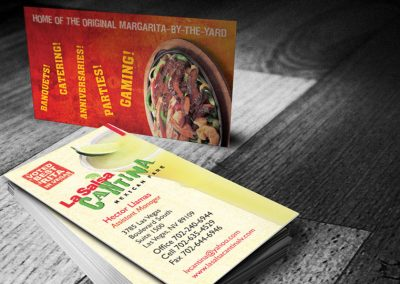 La Salsa Cantina Las Vegas Marketing Design