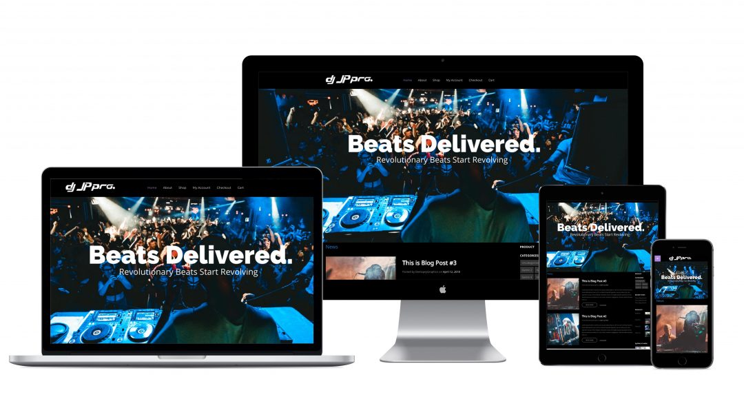DJJPPro Website Development