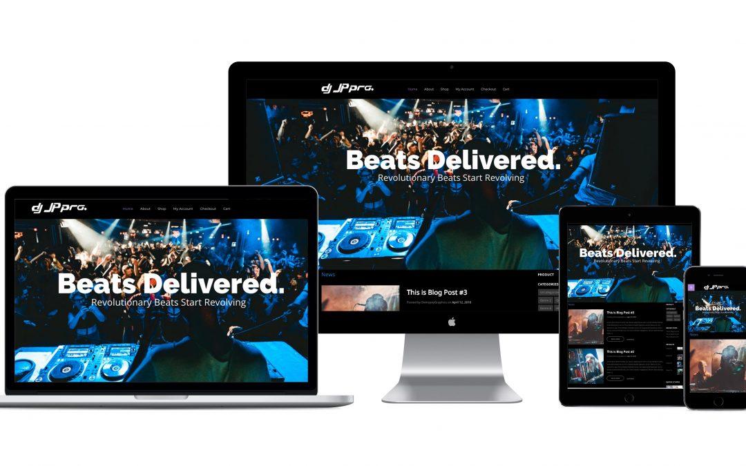 DJJPPro Website Development